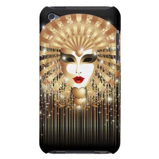 Golden Mask Mardi Gras Carnival iPod Touch Case