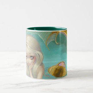 """Golden Mermaid"" Mug"