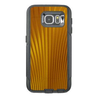 Golden Metal OtterBox Samsung Galaxy S6 Case