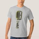 Golden Microphone Tshirt