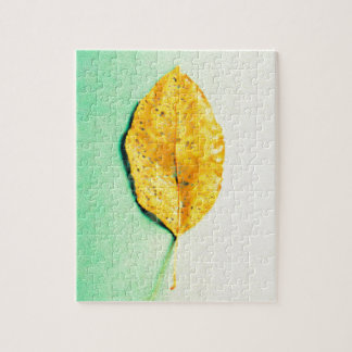Golden Mint by JP Choate Jigsaw Puzzle