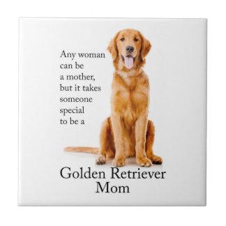 Golden Mom Ceramic Tile