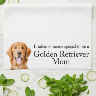 Golden Mom Kitchen Towel