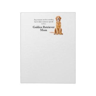 Golden Mom Notepad