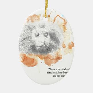 Golden Monkey Daemon - His Dark Materials Ceramic Ornament