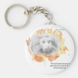 Golden Monkey Daemon - His Dark Materials Keychain