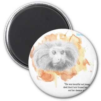 Golden Monkey Daemon - His Dark Materials Magnet