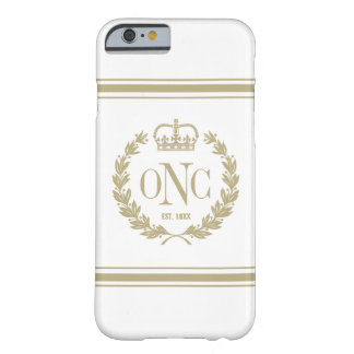 Golden Monogrammed Logo iPhone 6 Case