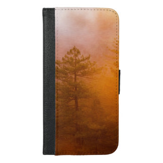 Golden Morning Glory Forest iPhone 6/6s Plus Wallet Case