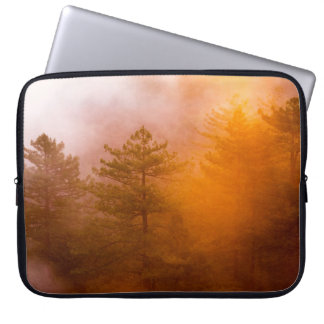 Golden Morning Glory Forest Laptop Sleeve