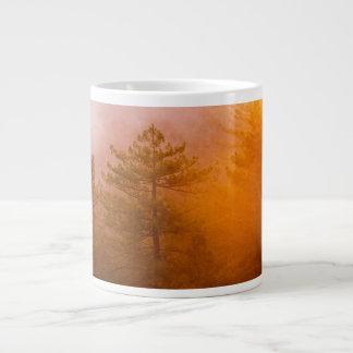 Golden Morning Glory Forest Large Coffee Mug