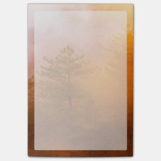 Golden Morning Glory Forest Post-it® Notes
