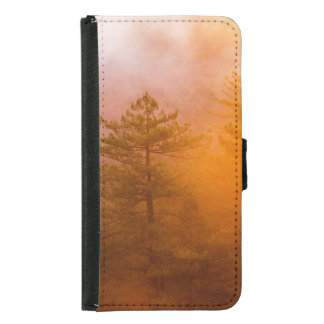 Golden Morning Glory Forest Samsung Galaxy S5 Wallet Case