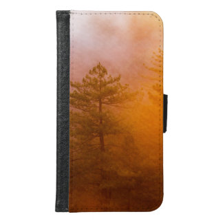 Golden Morning Glory Forest Samsung Galaxy S6 Wallet Case