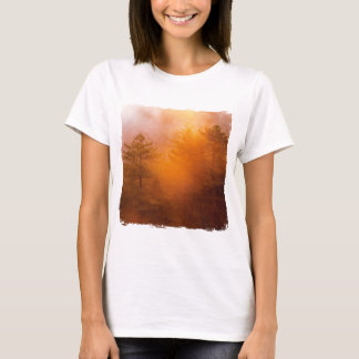 Golden Morning Glory Forest T-Shirt