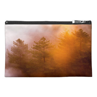 Golden Morning Glory Forest Travel Accessory Bag