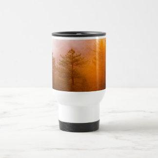 Golden Morning Glory Forest Travel Mug