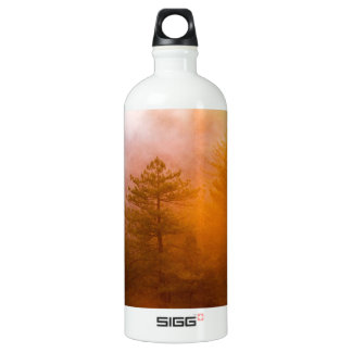 Golden Morning Glory Forest Water Bottle