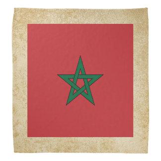 Golden Morocco Flag Bandana