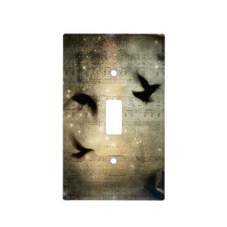 Golden Musical Dream Light Switch Cover