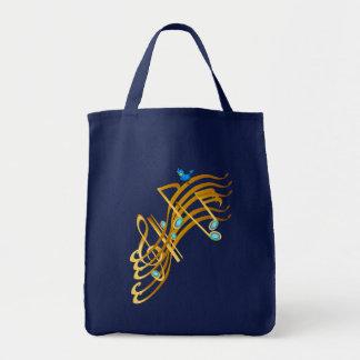 Golden Notes Bags