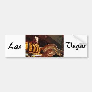 Golden Nugget Las Vegas Bumper Sticker