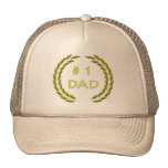 Golden Number 1 Dad Hat