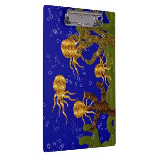 Golden Octopi Clipboard