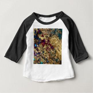 Golden Oil Slick Quartz Baby T-Shirt
