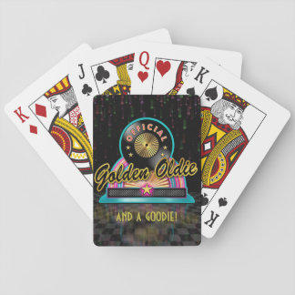 Golden Oldie Playing Cards