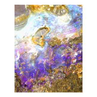 Golden Opal Letterhead