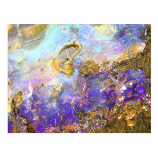 Golden Opal Postcard