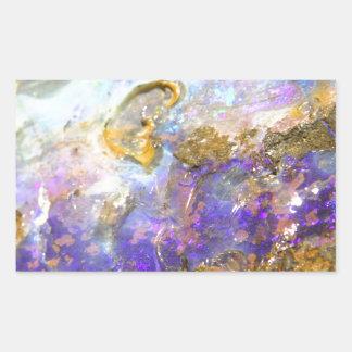 Golden Opal Sticker