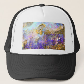 Golden Opal Trucker Hat
