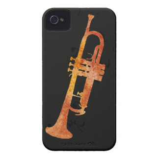 Golden Orange Trumpet Case-Mate iPhone 4 Case