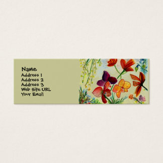 Golden Orchid Profile Card