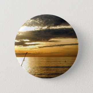 golden pacific sunset 2 inch round button