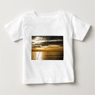 golden pacific sunset baby T-Shirt