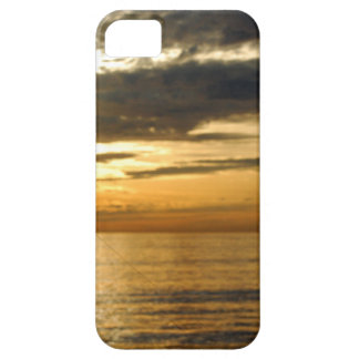 golden pacific sunset case for the iPhone 5