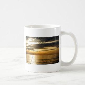 golden pacific sunset coffee mug
