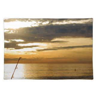 golden pacific sunset placemat