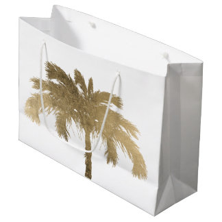Golden Palm Large Gift Bag