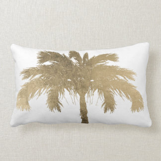 Golden Palm Lumbar Pillow