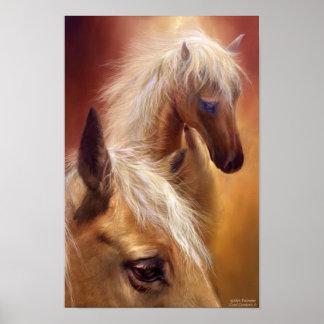 Golden Palomino Art Poster/Print Poster