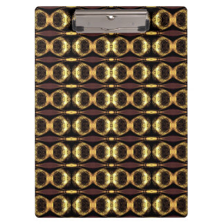 Golden Pattern Clipboard