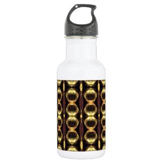 Golden Pattern Water Bottle