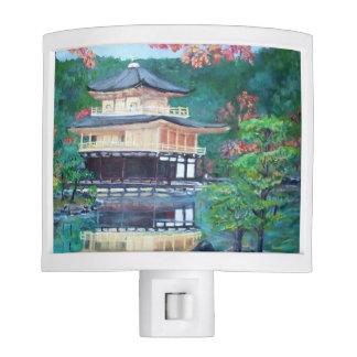 Golden Pavilion - Night Light