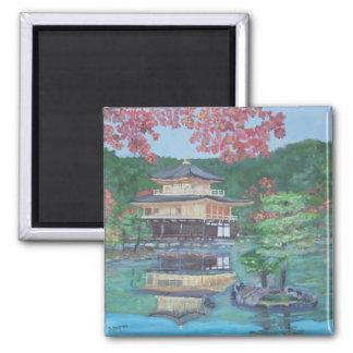 Golden Pavillion in Kyoto Magnet