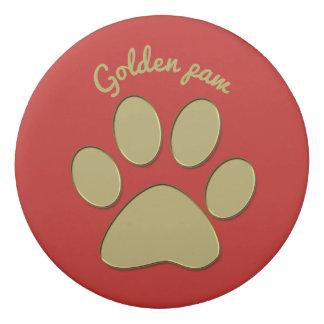 """""""golden"""" paw - eraser"""