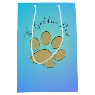 """""""golden"""" paw - gift bag"""